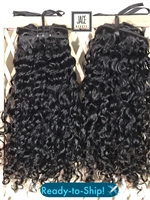 "!!SOLD!! IN-STOCK: TEXTURED CURL 16"" CLIP-INS"