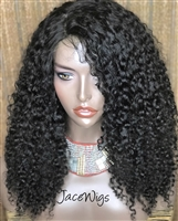 "—SOLD— WIG F: 18"" DAWN (in Curl Baby)"