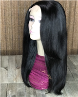 "Wig Drop: 18"" TEXTURED STRAIGHT SLEEK"