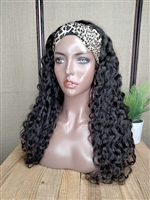 "!!SOLD!!- INSTOCK: 22"" NATURE'S CURL HEADBAND WIG"