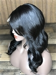 "IN-STOCK 16"" LACE TOP WIG- TEXTURED STRAIGHT"