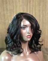 "--SOLD-- WIG B: 14"" SMOKY- BRAND NEW!"