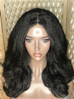 "!!SOLD!! - 16"" LAYERED WILDCHILD MILD SILK TOP WIG"