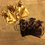 JACE Satin Bundle Bags (PACK OF 3 FOR $5)