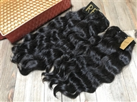 !!SOLD!! SHOWCASE OFFERING #4: MEDIUM-to-VERY COARSE TIGHT WAVY/CURLY